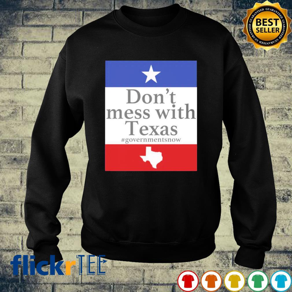 Don't mess with Texas governmentsnow s sweater