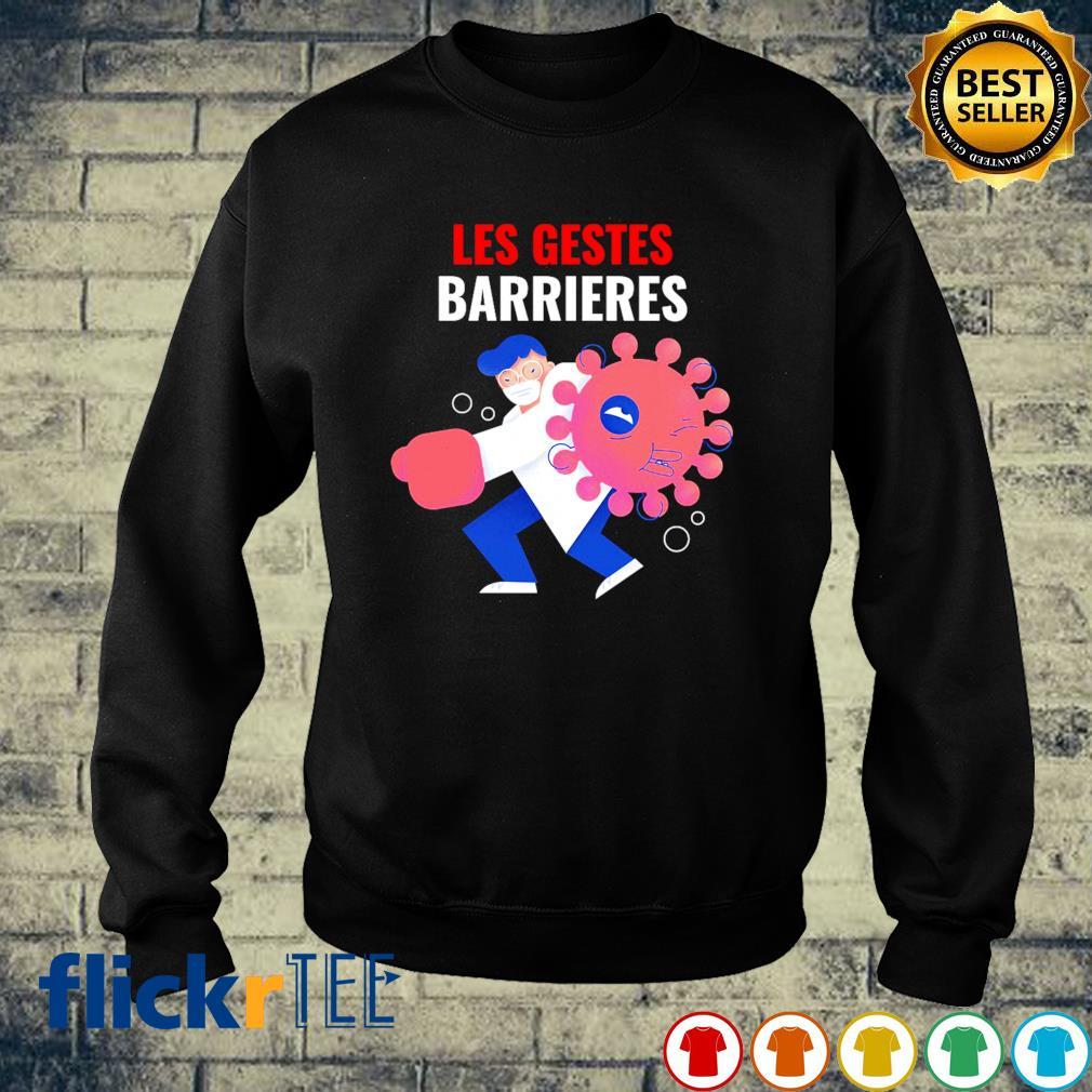 Nurse les gestes barrieres Covid-19 s sweater