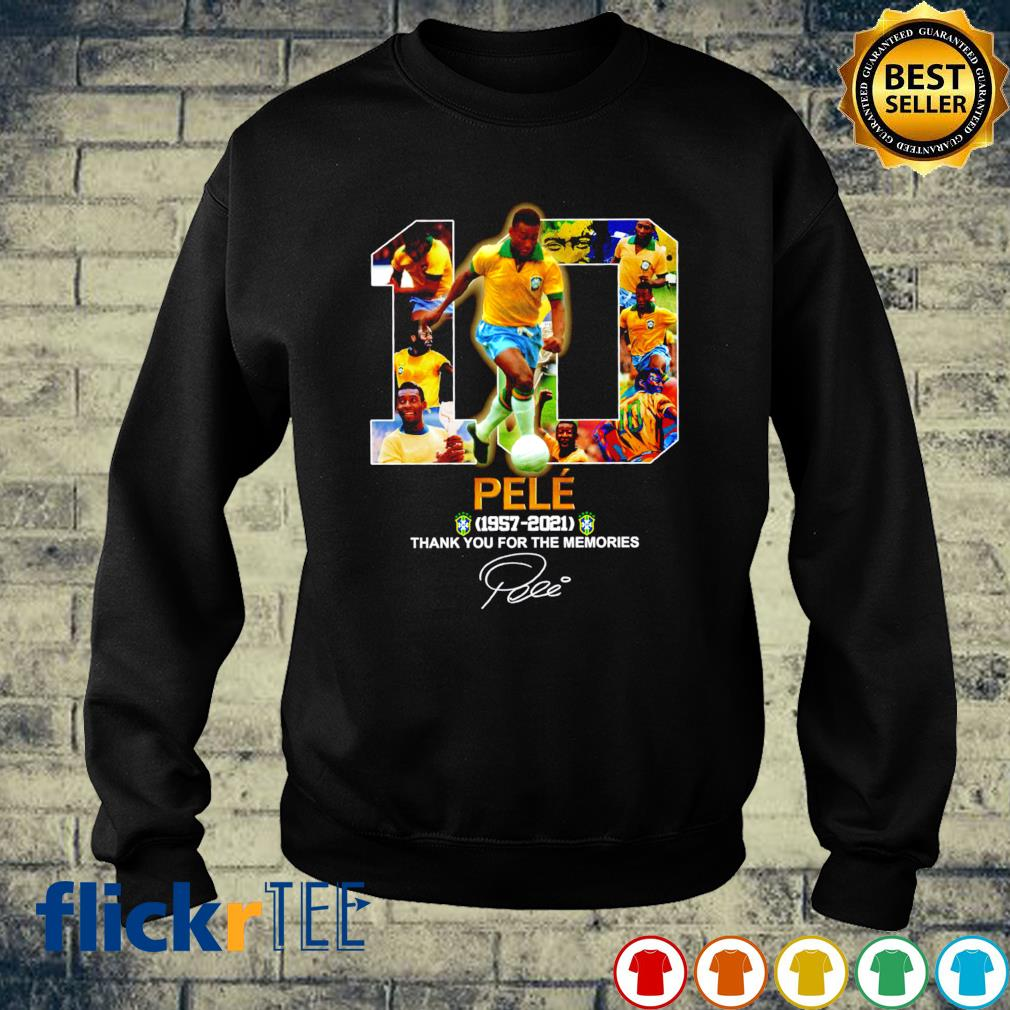 Pele 1957 2021 thank you for the memories s sweater