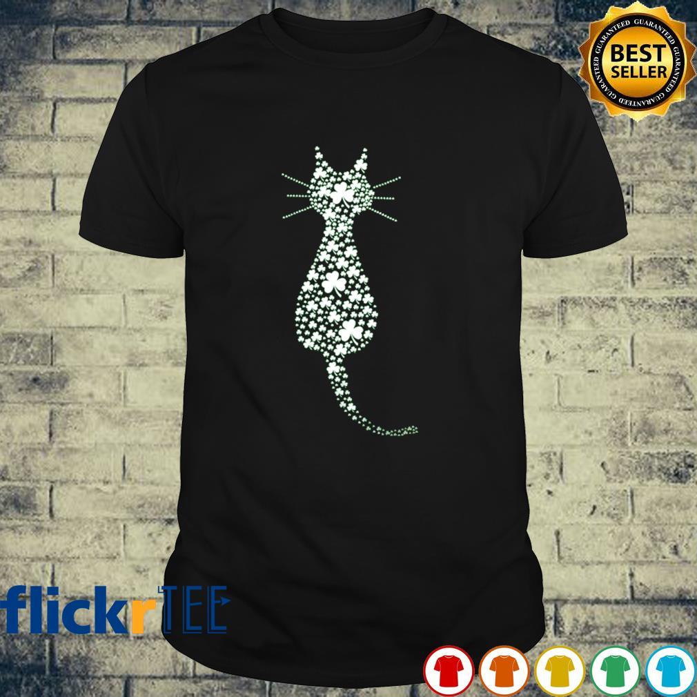 Shamrock make cat St Patrick's Day shirt