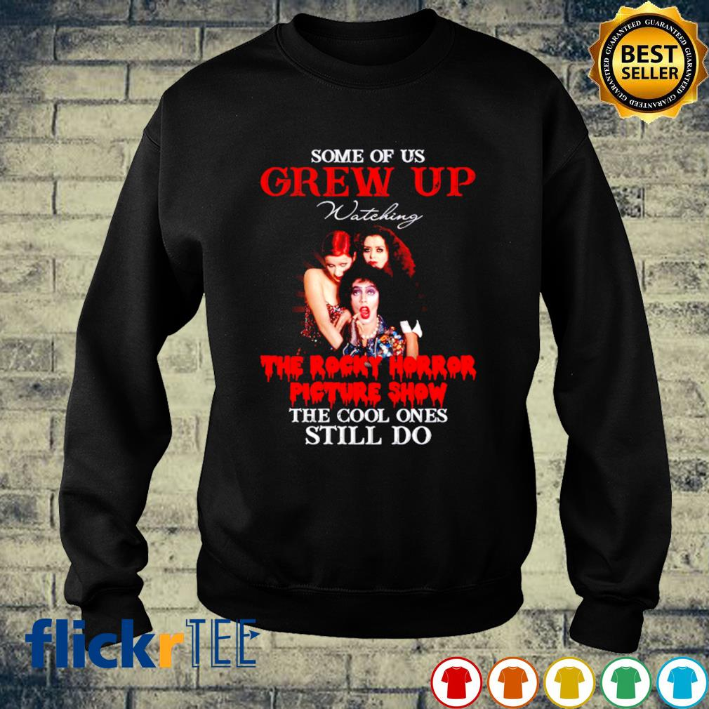 Some of us grew up watching The Rocky Horror Picture Show s sweater