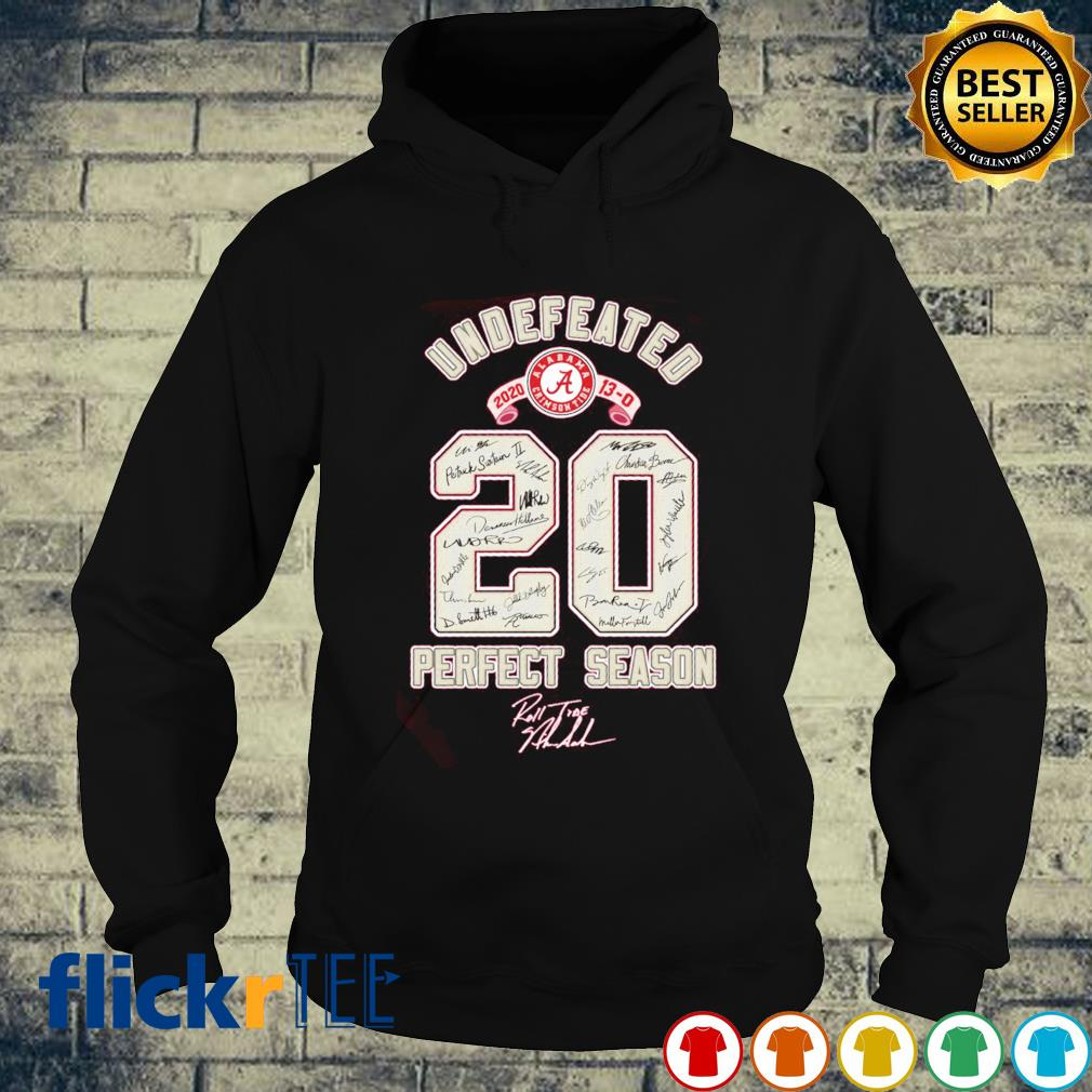 Undefeated 2020 perfect season s hoodie