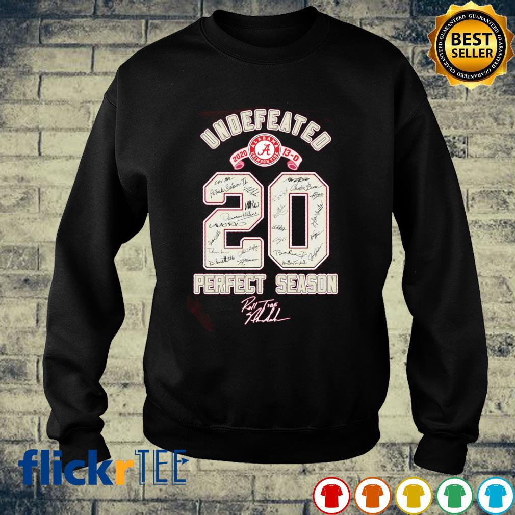 Undefeated 2020 perfect season s sweater