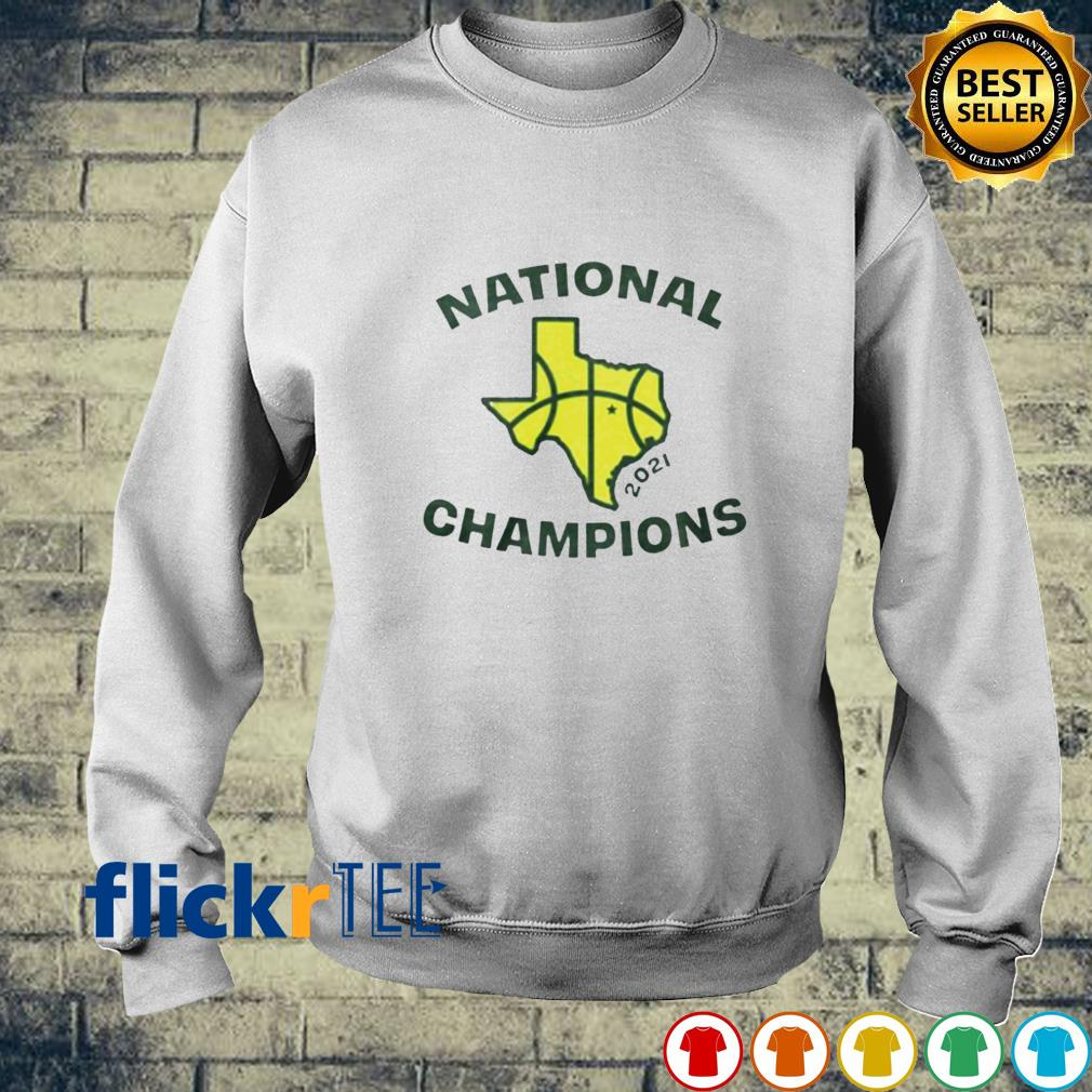 National champions 2021 Texas flag map basketball s sweater