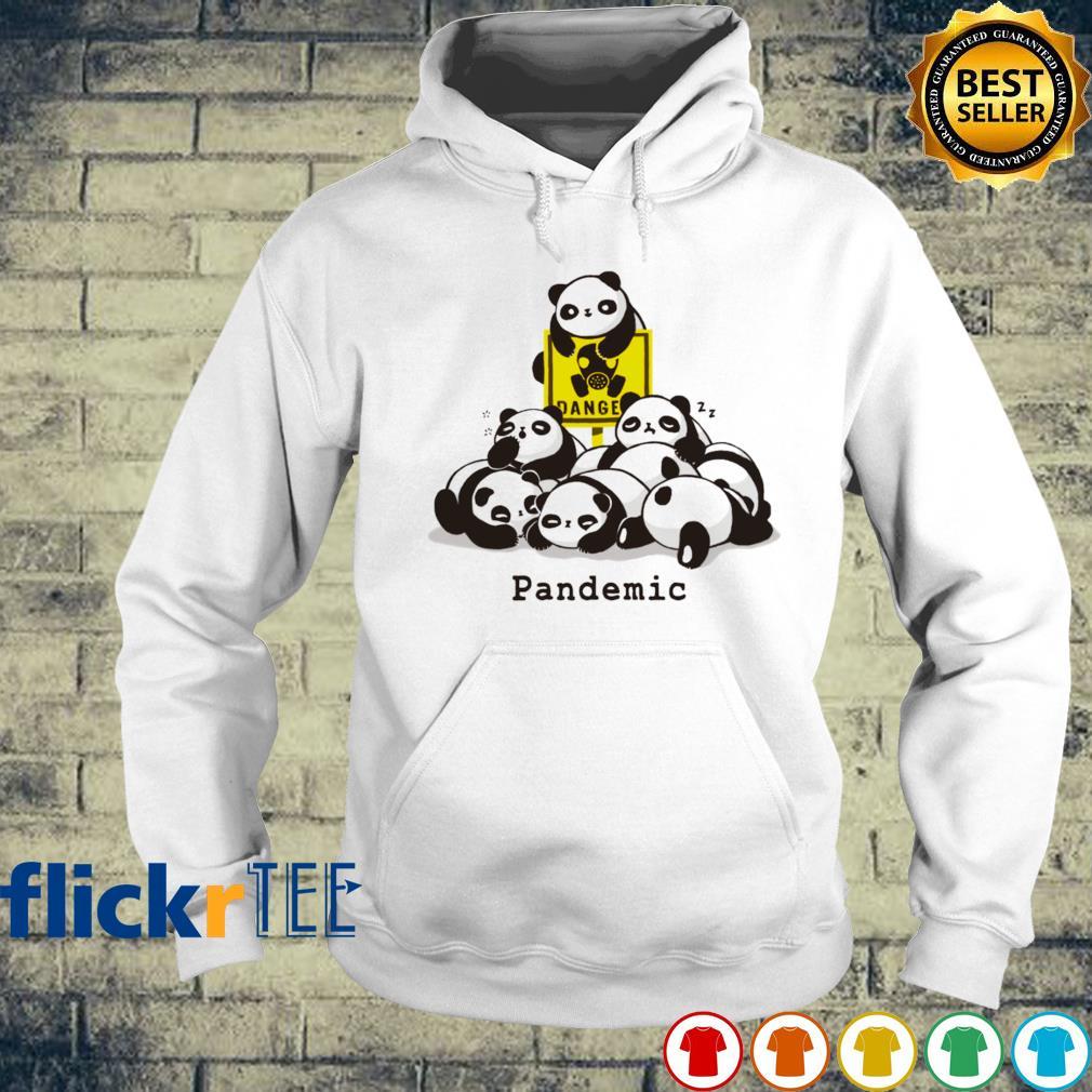 Panda danger pandemic s hoodie
