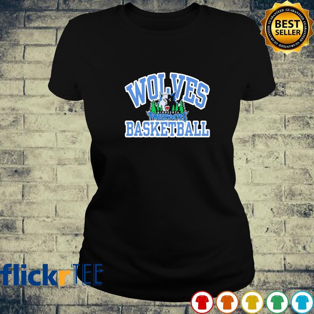 Wolves basketball Minnesota Timberwolves s ladies-tee