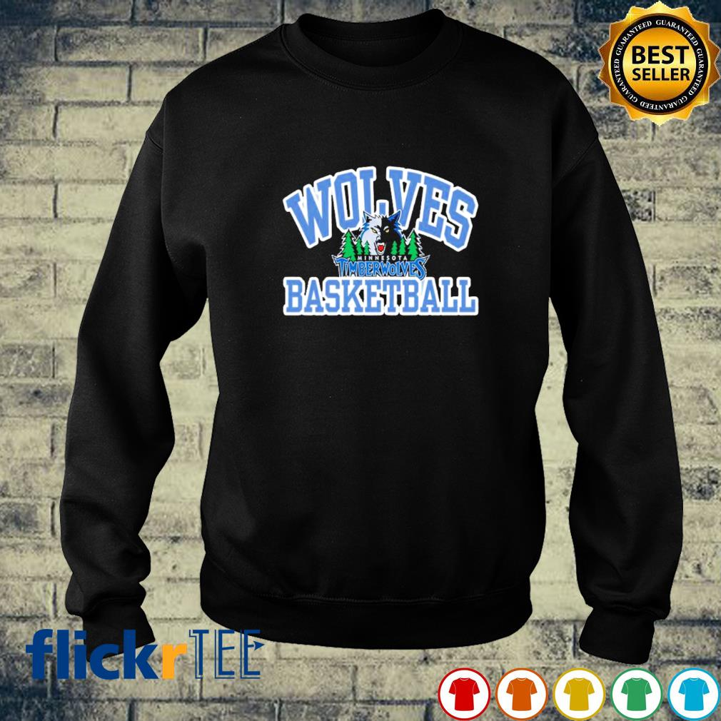 Wolves basketball Minnesota Timberwolves s sweater