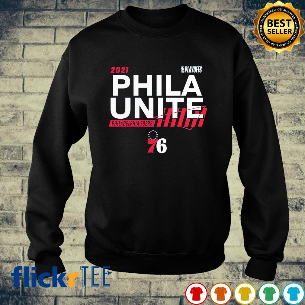 2021 NBA Playoffs Phila Unite Philadelphia 76ers s sweater