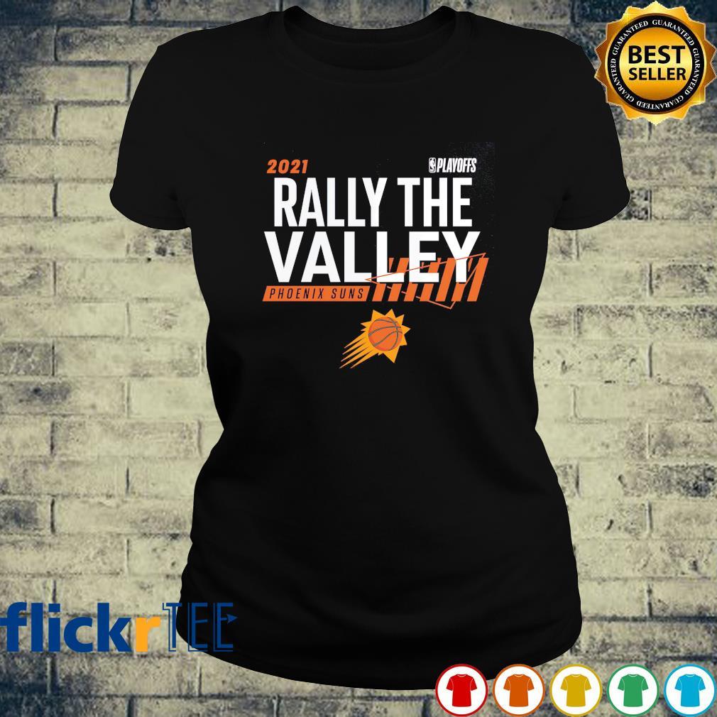 2021 NBA Playoffs Rally the valley Phoenix Suns s ladies-tee
