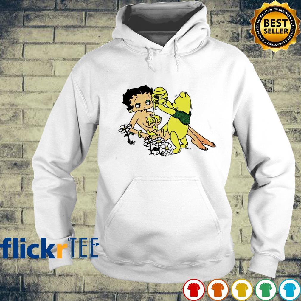 Pooh honey Betty Boop s hoodie