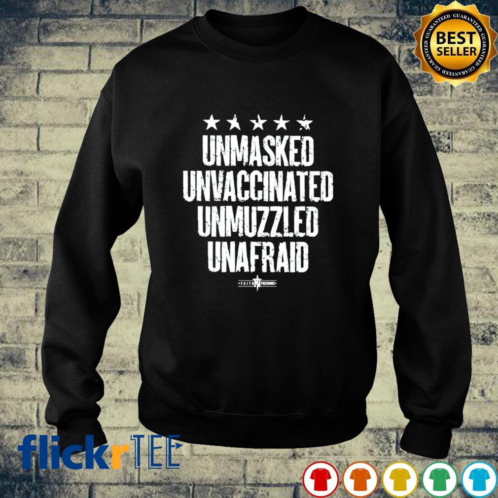 Unmasked Unmuzzled sweater
