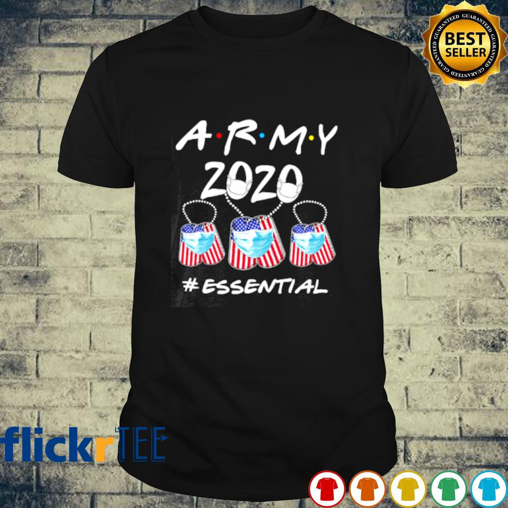 Army 2020 facemask essential Covid-19 shirt