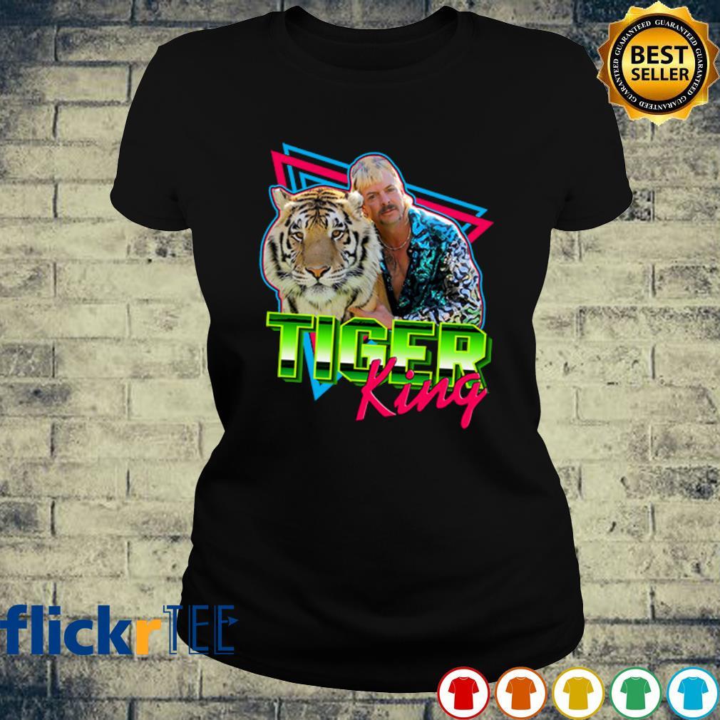 Joe Exotic Tiger King American Hero s ladies-tee