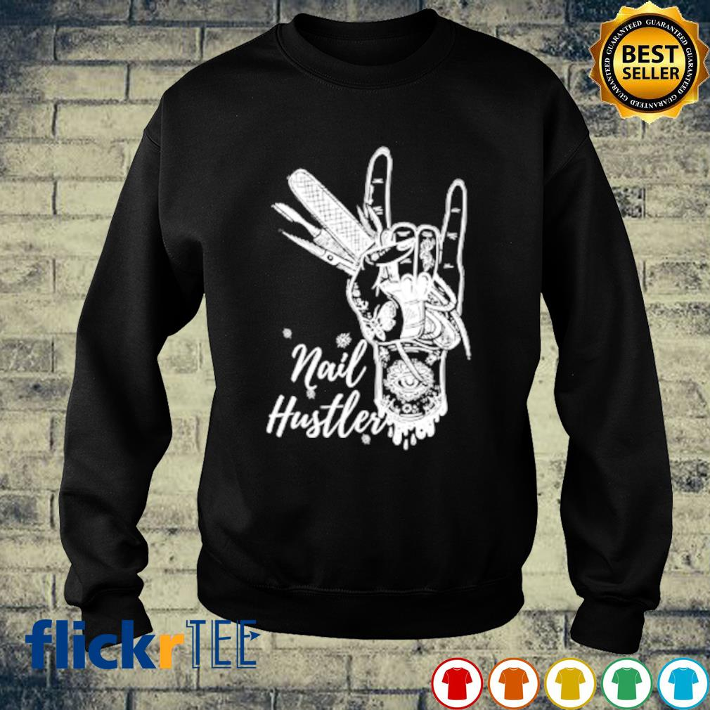 Hair Stylist Nail Hustler s sweater