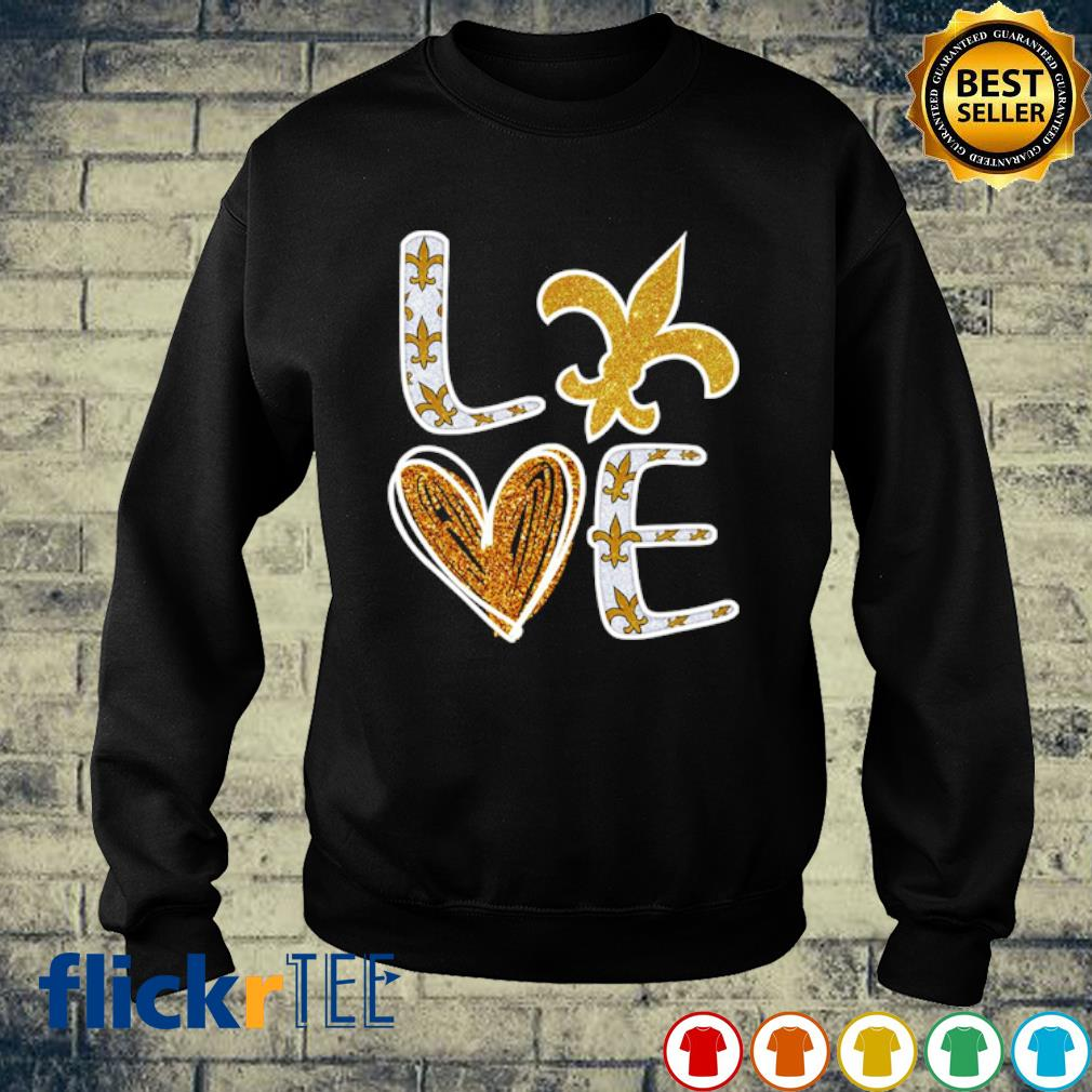 Love New Orleans Saints s sweater