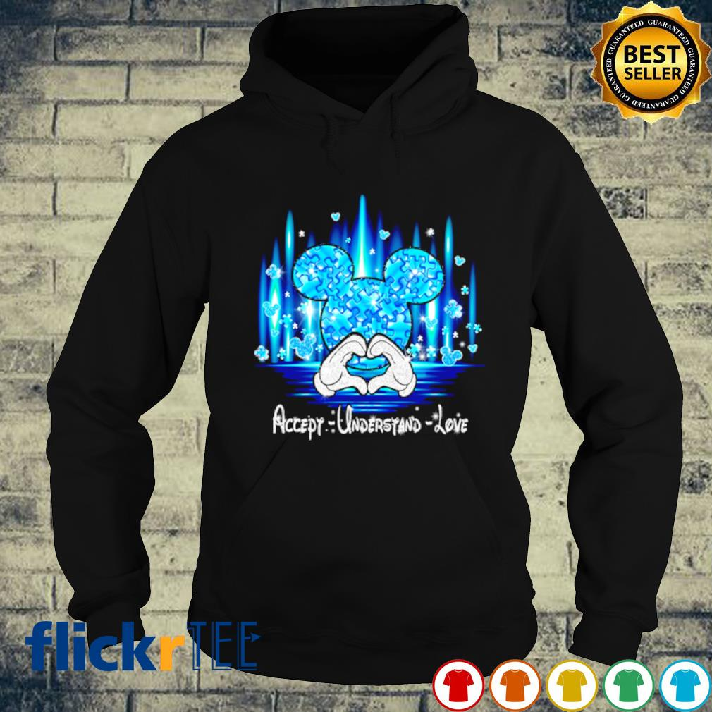 Mickey mouse Accept understand love s hoodie
