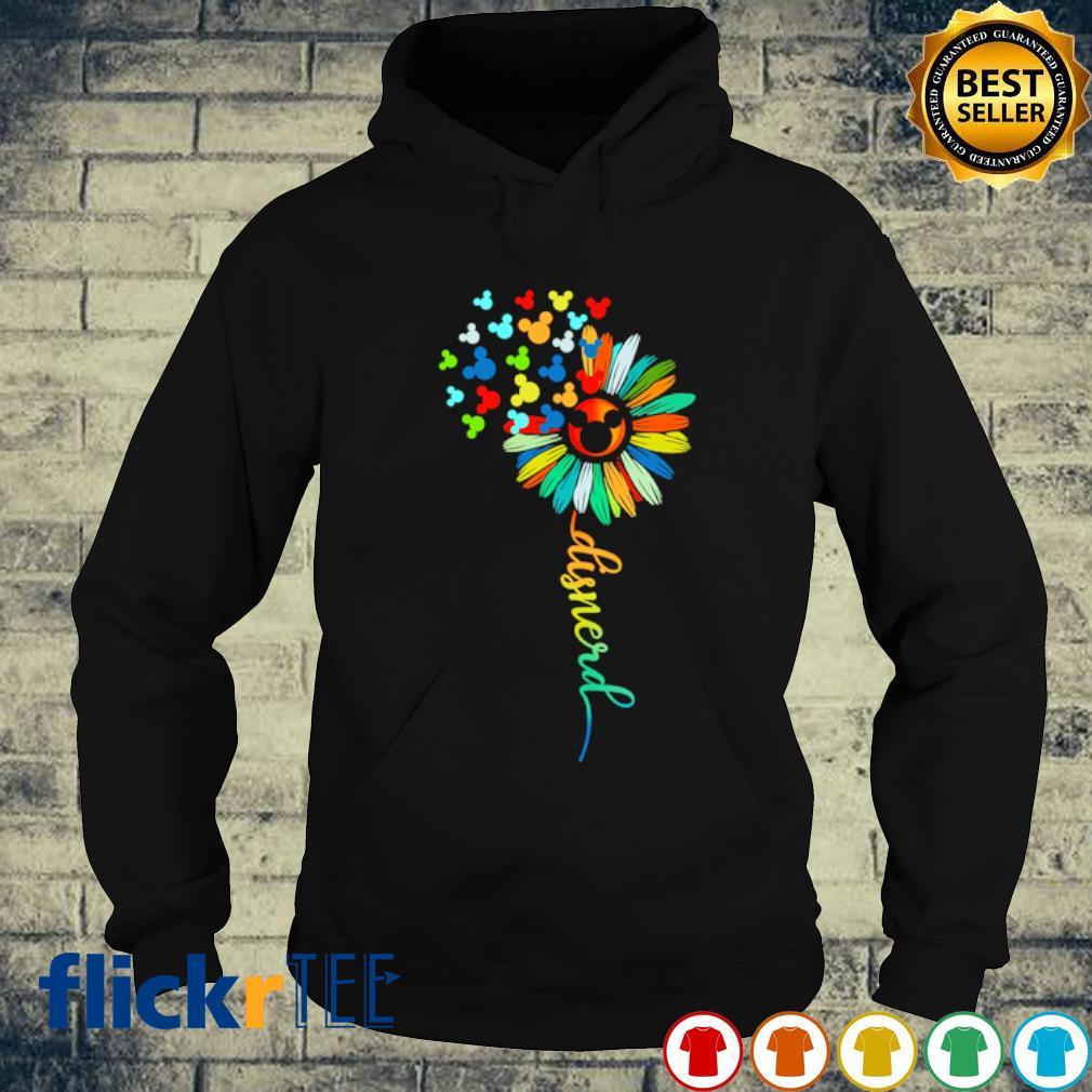 Mickey mouse flower Disnerd s hoodie