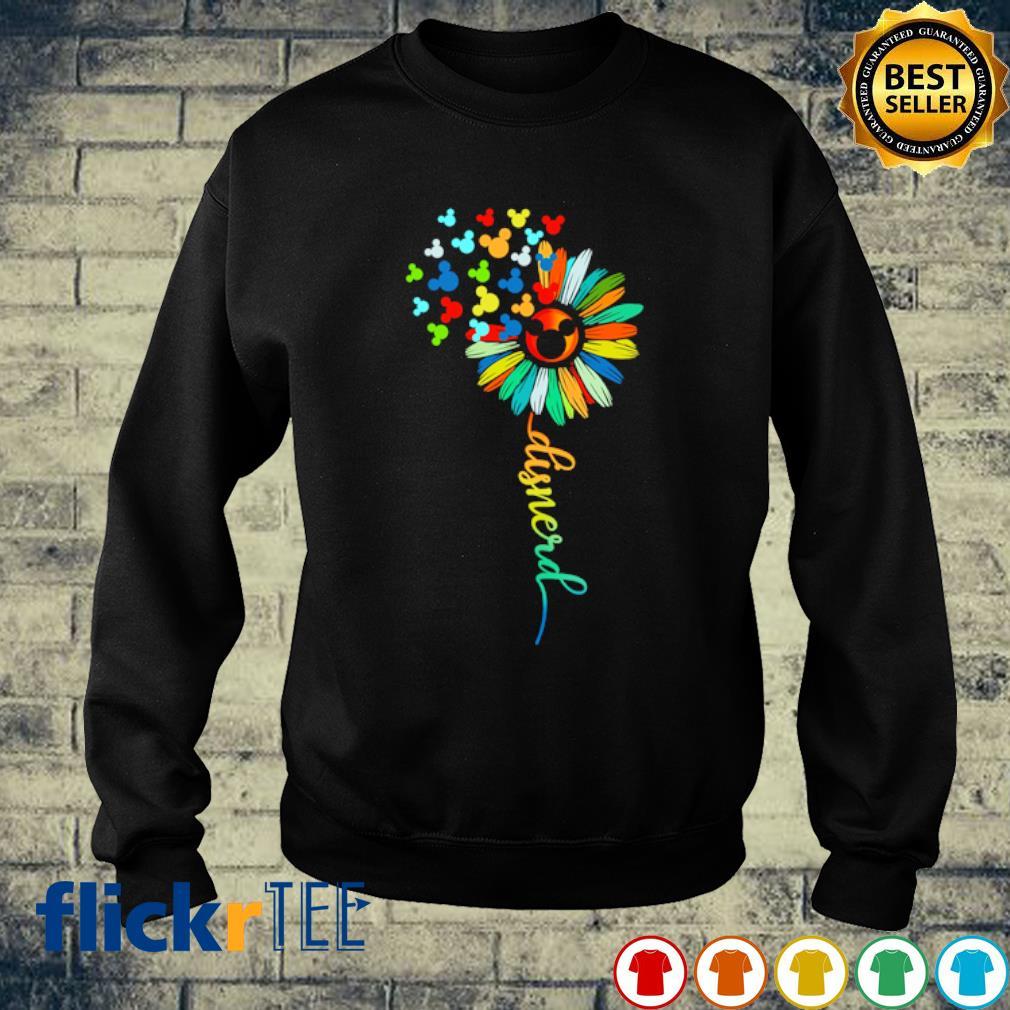 Mickey mouse flower Disnerd s sweater