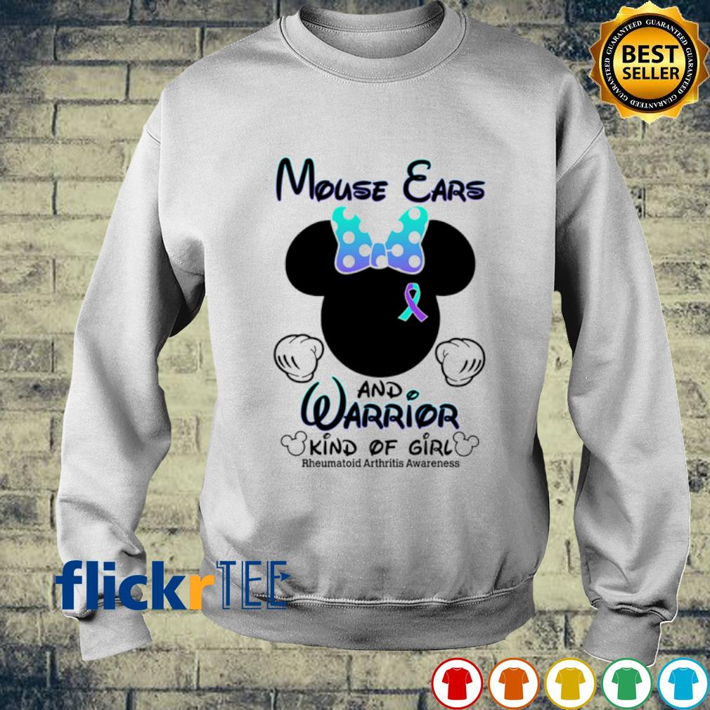 Mouse ears and warrior kind of girl s sweater