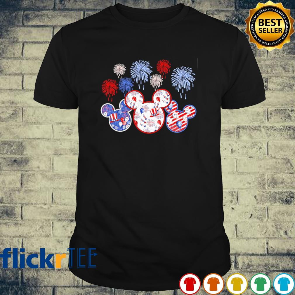Patriotic Mouses happy independence day shirt