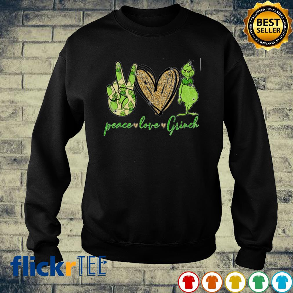Peace Love Grinch s sweater