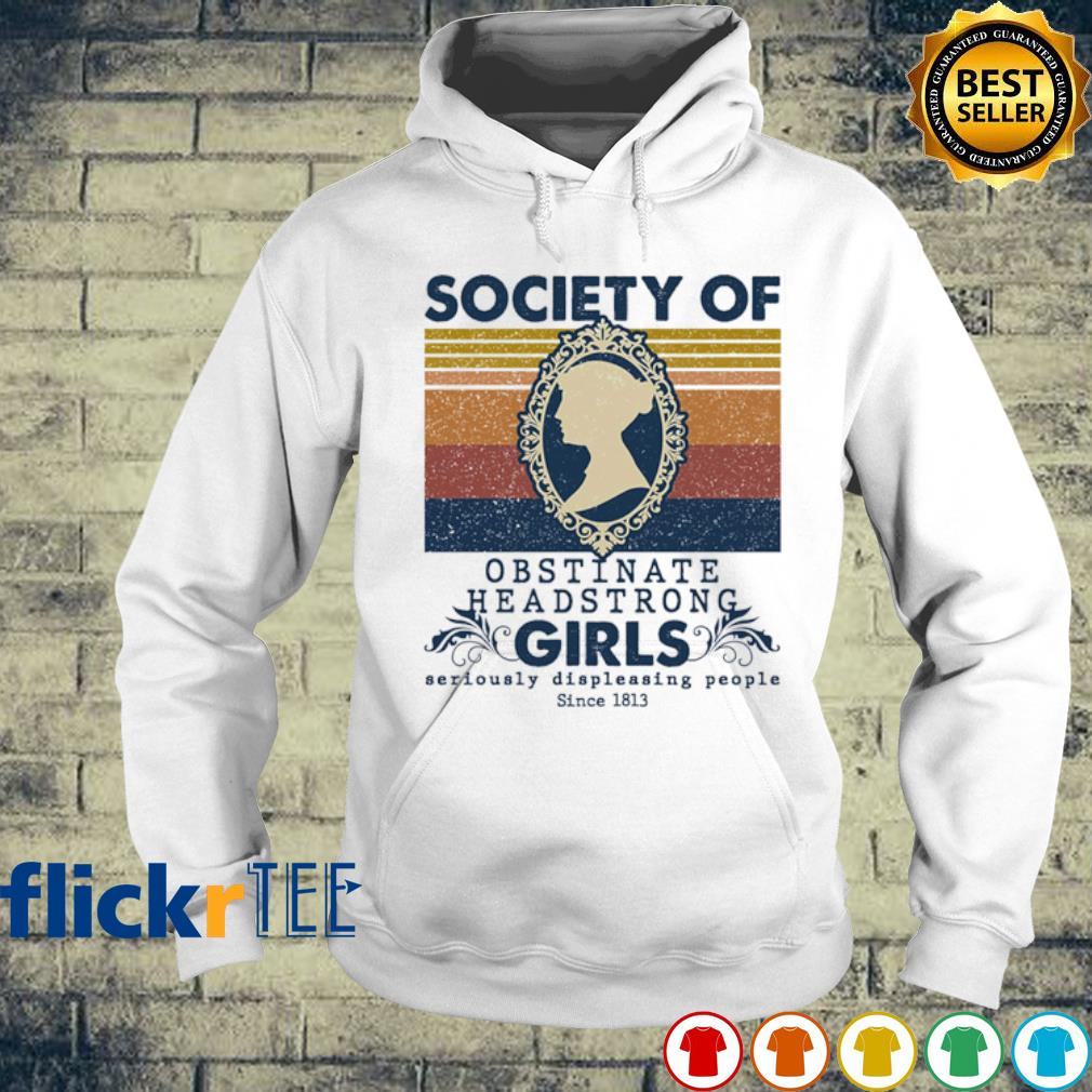 Society of Obstinate Headstrong Girls vintage s hoodie