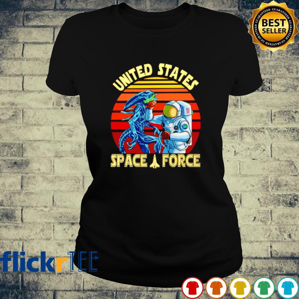 Alien United States space force vintage s ladies-tee