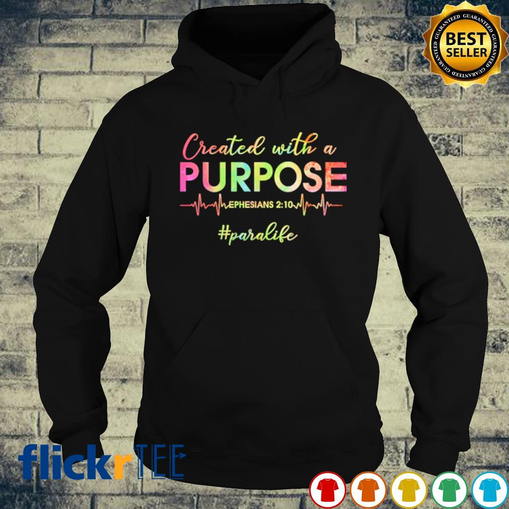Created with a purpose ephesians s hoodie
