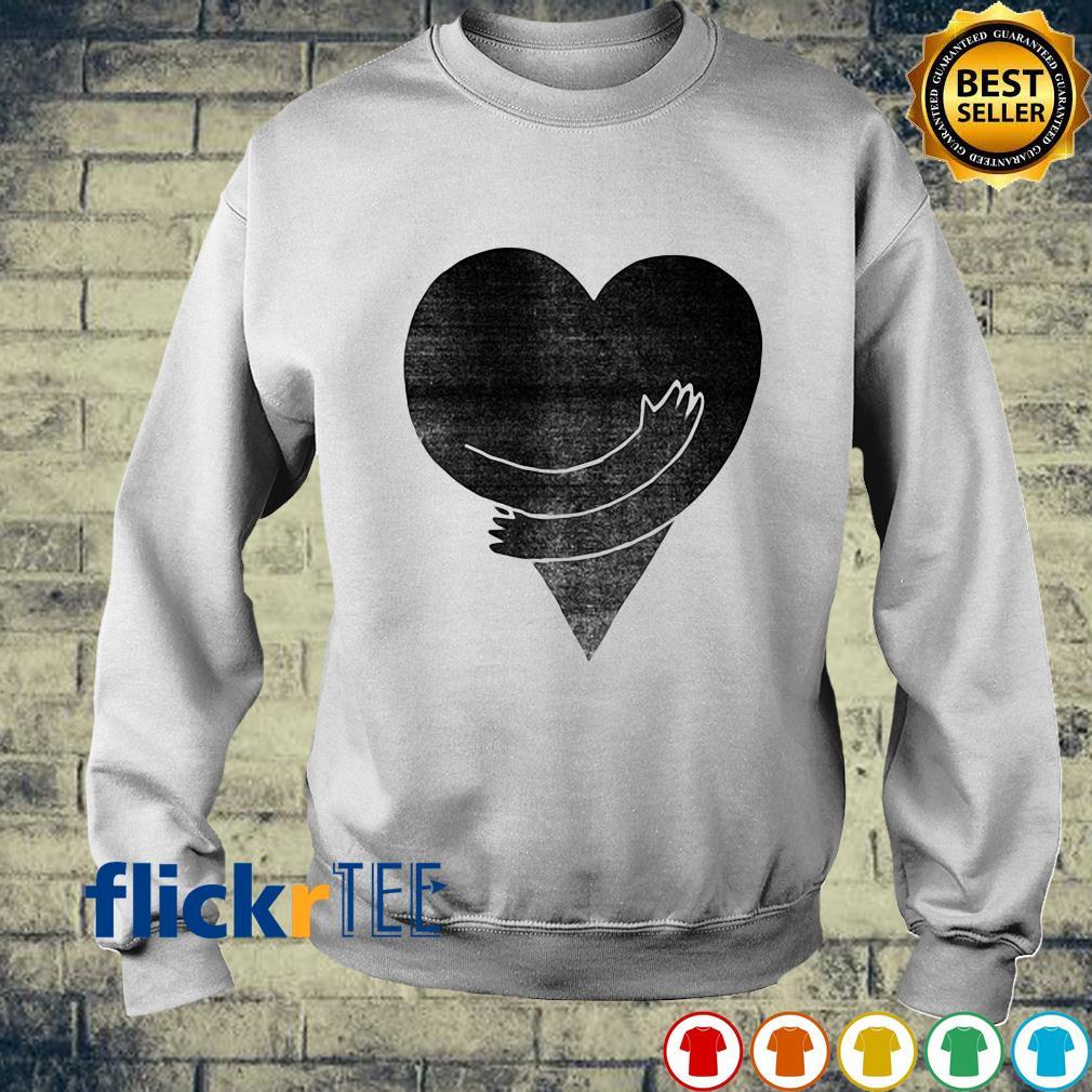Heart Hug Yourself Love s sweater