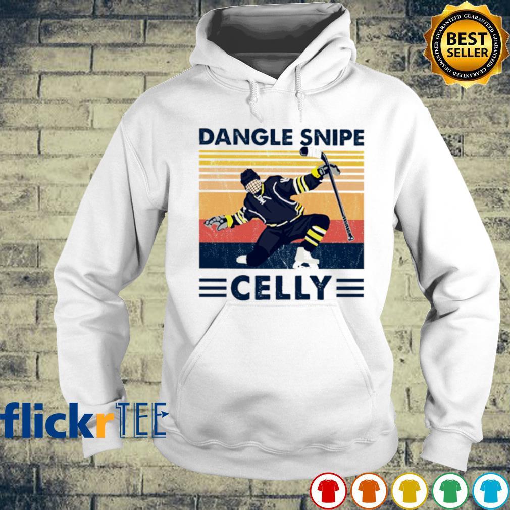 Hockey Dangle Snipe Celly vintage s hoodie