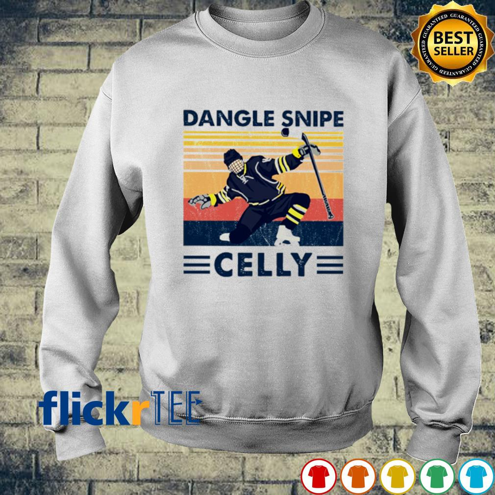 Hockey Dangle Snipe Celly vintage s sweater