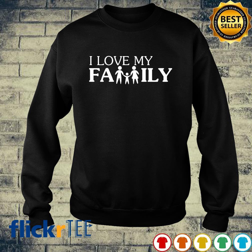 I love my family s sweater