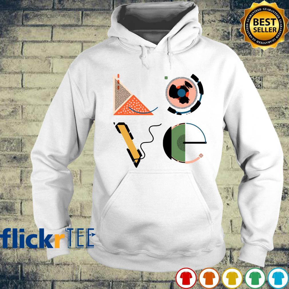 Love Math Geography Physical Chemistry s hoodie