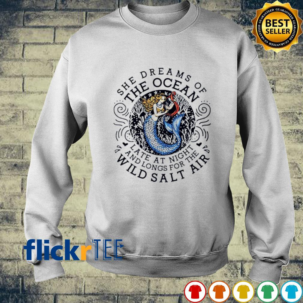 Mermaid The Dreams Of The Ocean late at night s sweater