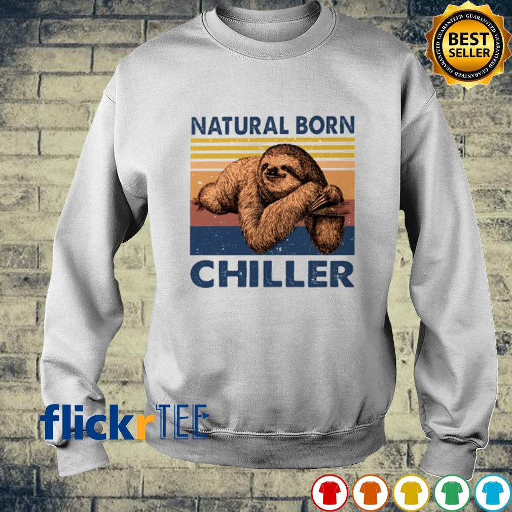 Sloth Natural born chiller vintage s sweater