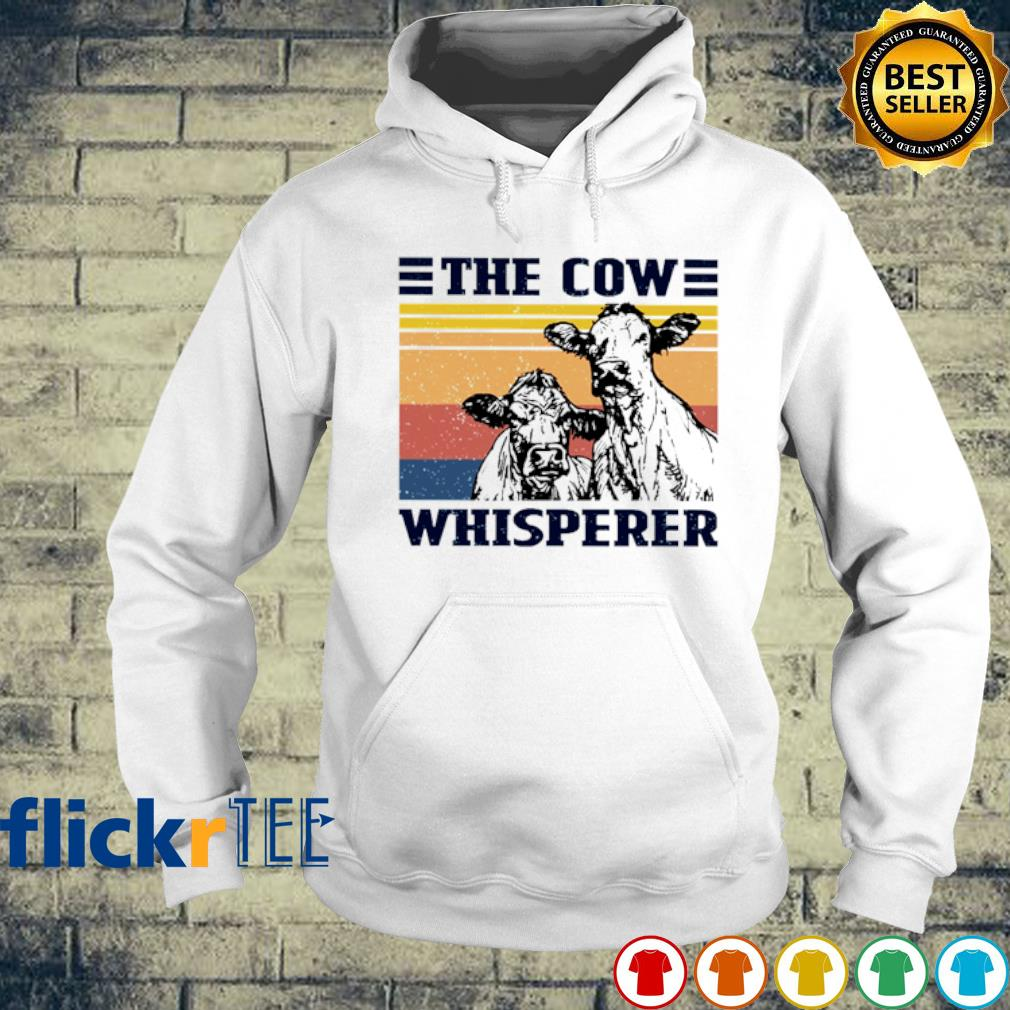 The cow whisperer vintage s hoodie