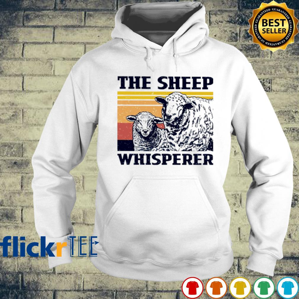 The Sheep whisperer vintage s hoodie