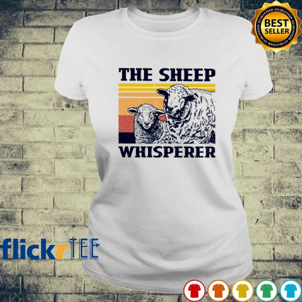 The Sheep whisperer vintage s ladies-tee
