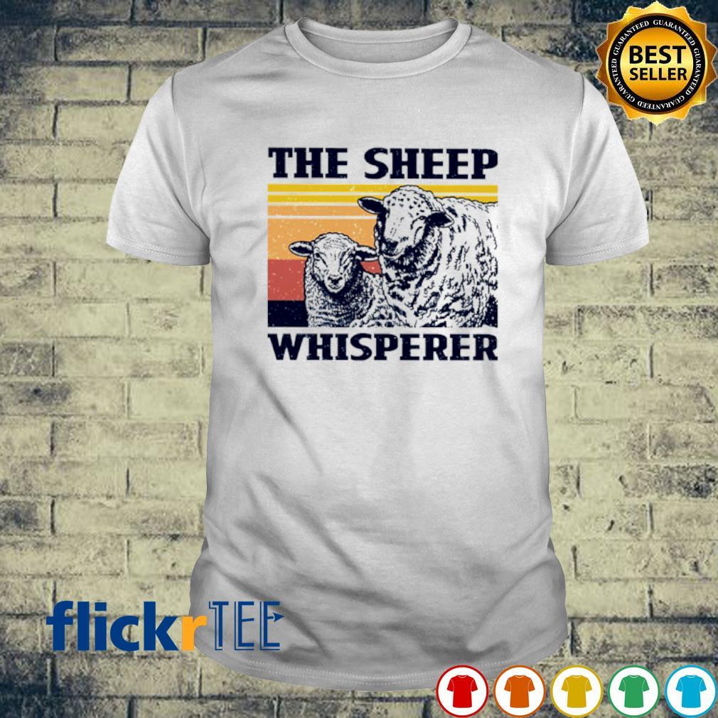 The Sheep whisperer vintage shirt