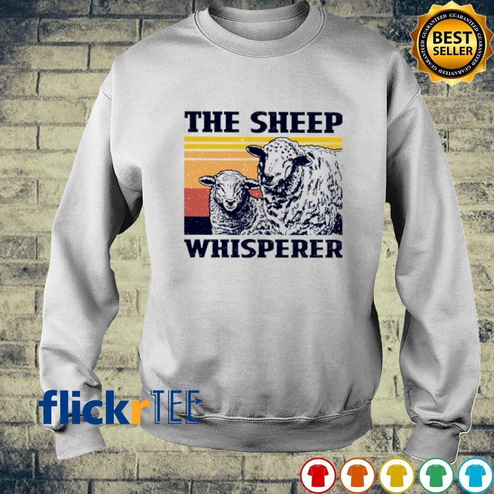 The Sheep whisperer vintage s sweater
