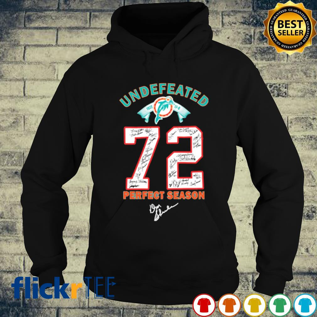 1972 undefeated Miami Dolphins signature Don Shula s hoodie