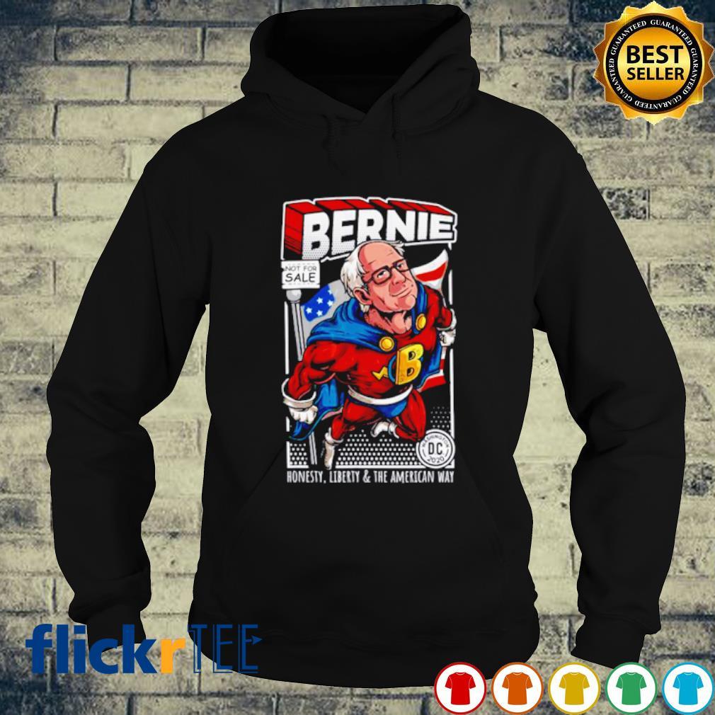Bernie Sanders Superhero Honesty Liberty And The American Way s hoodie
