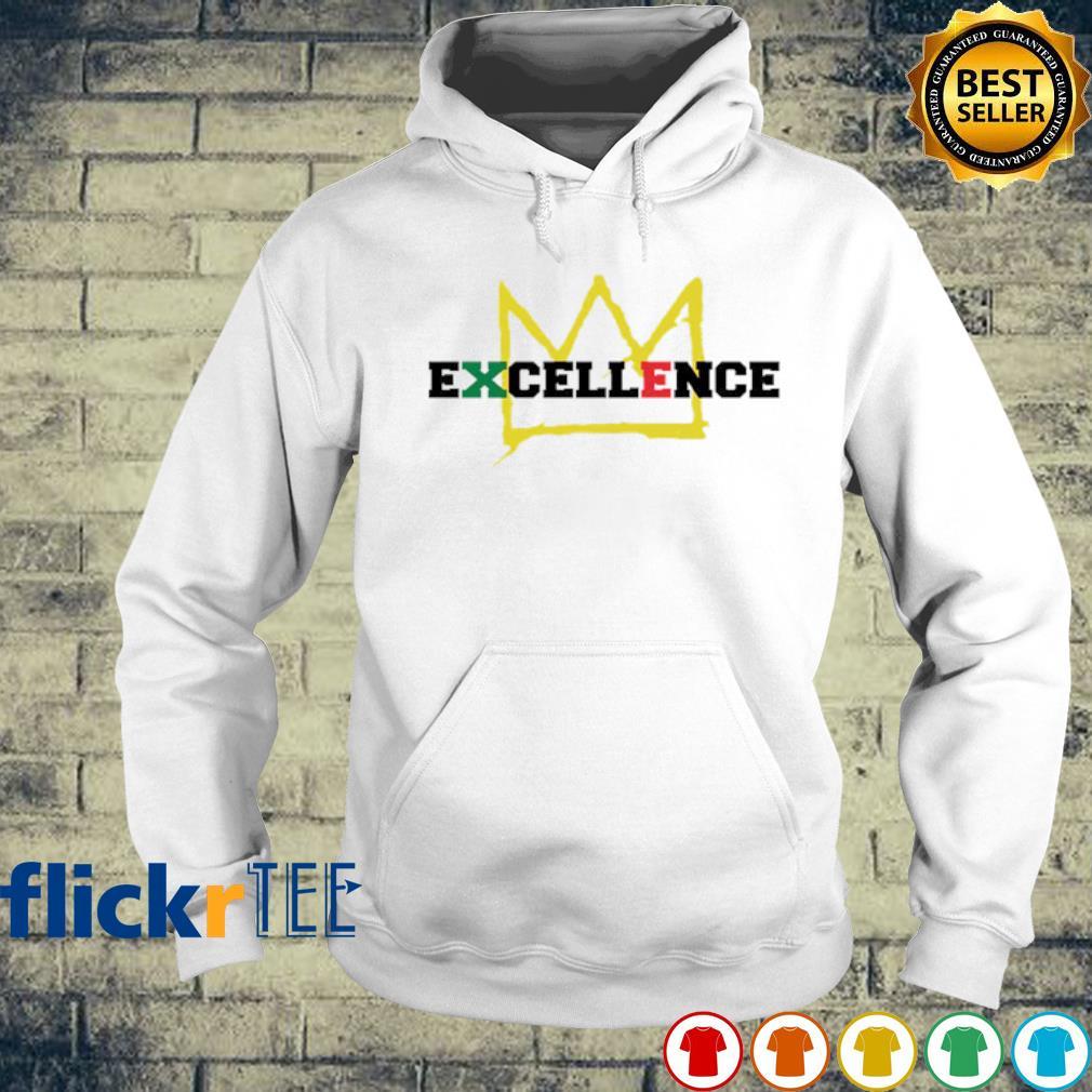 Black Excellence king s hoodie