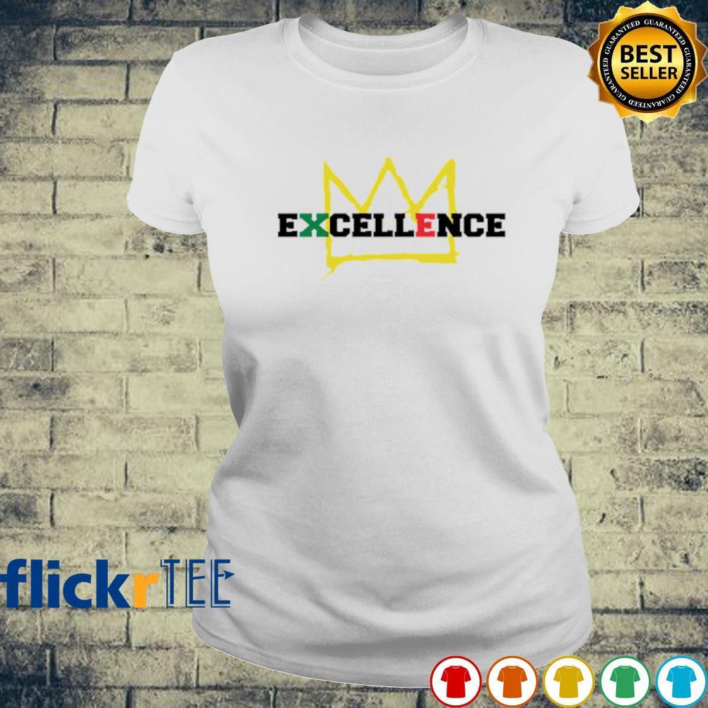 Black Excellence king s ladies-tee
