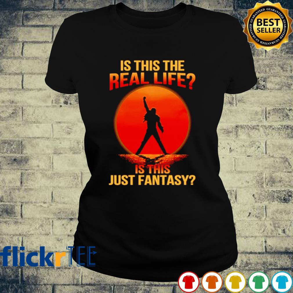 Bohemian Rhapsody Is this the real life is this just fantasy s ladies-tee