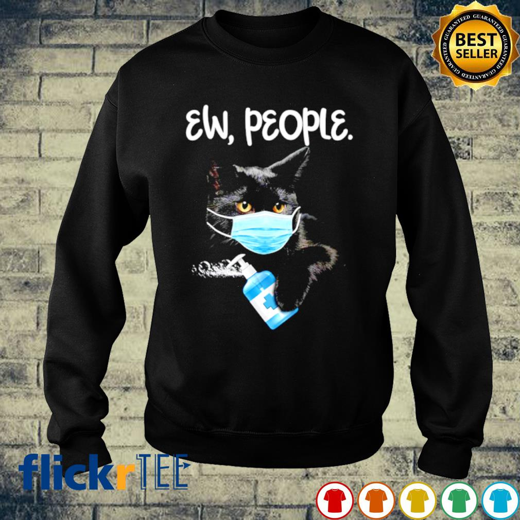 Cat face mask ew people s sweater