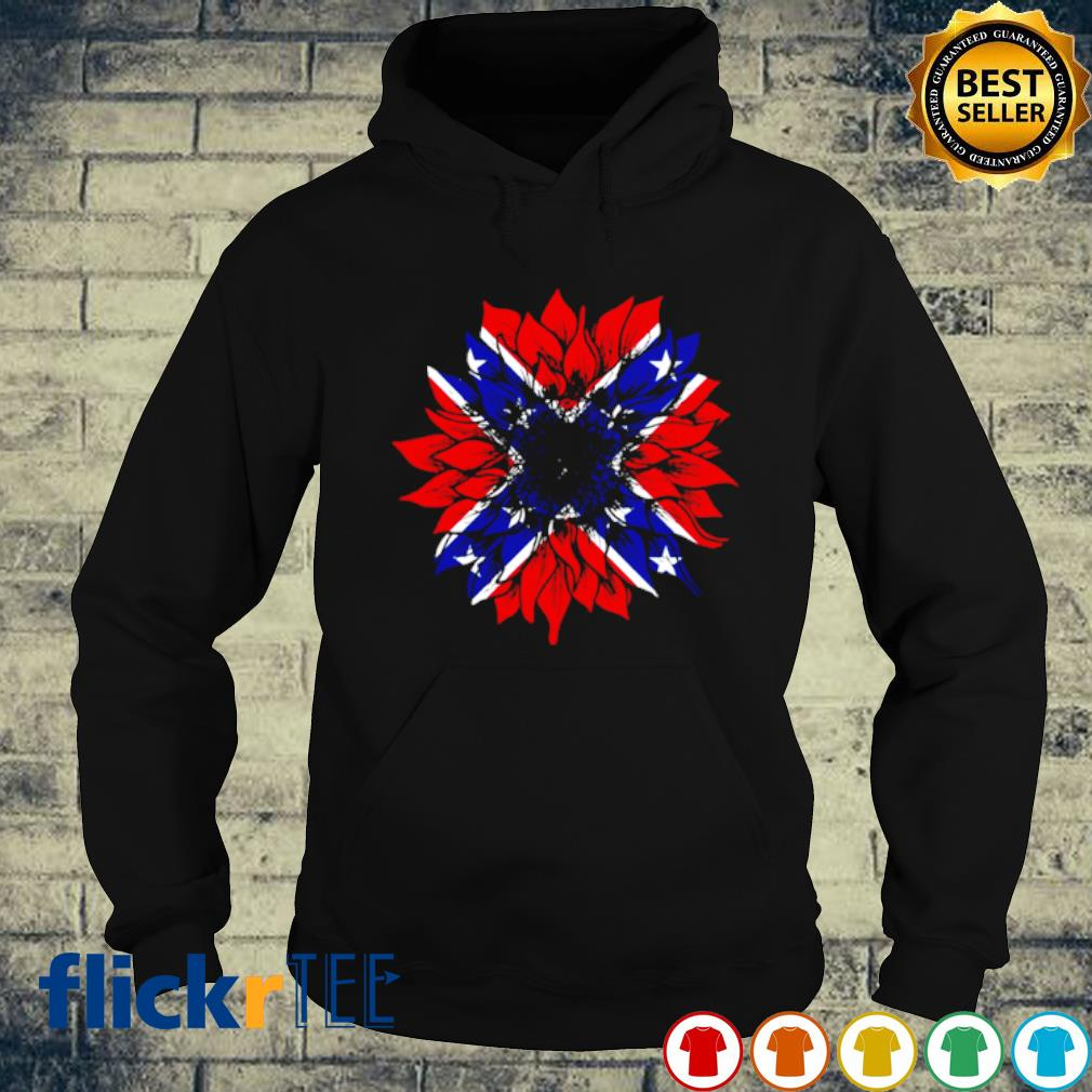 Confederate Flag Redneck Sunflower s hoodie