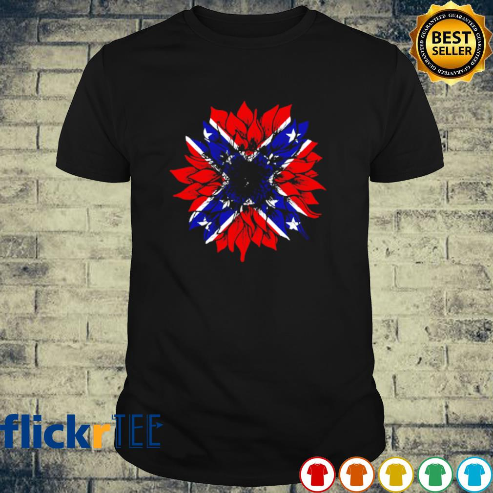 Confederate Flag Redneck Sunflower shirt