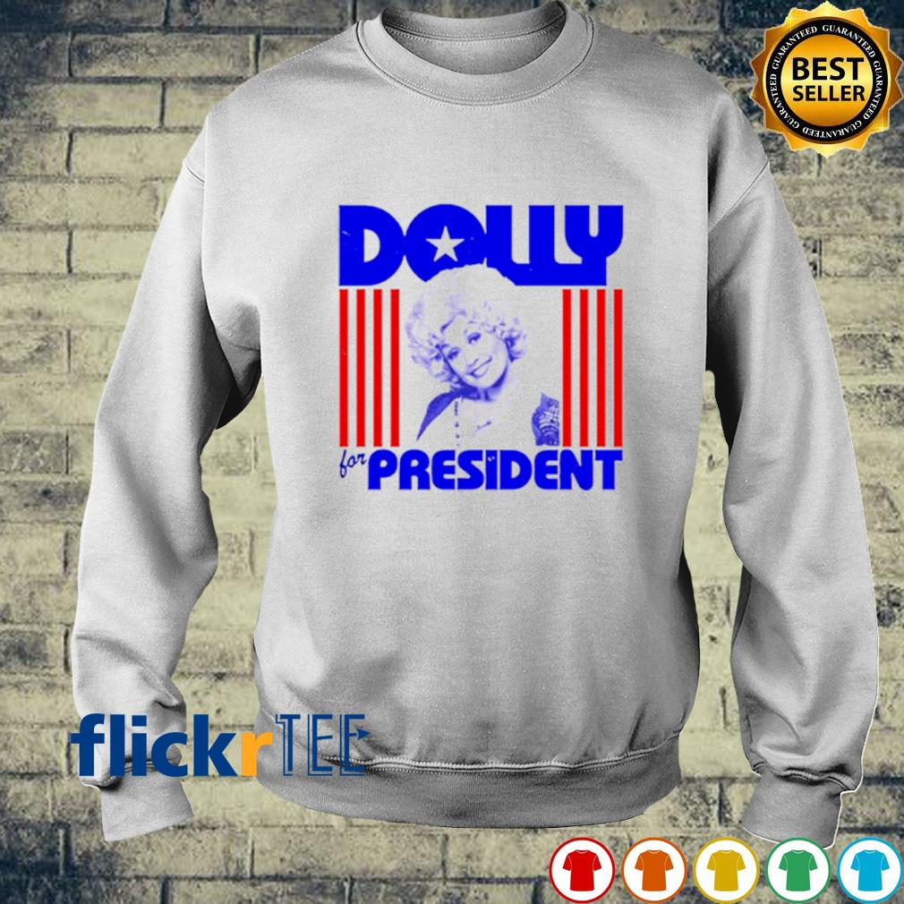 Dolly for president s sweater
