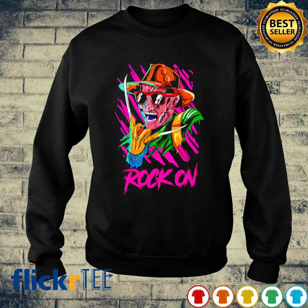 Freddy Krueger rock on s sweater